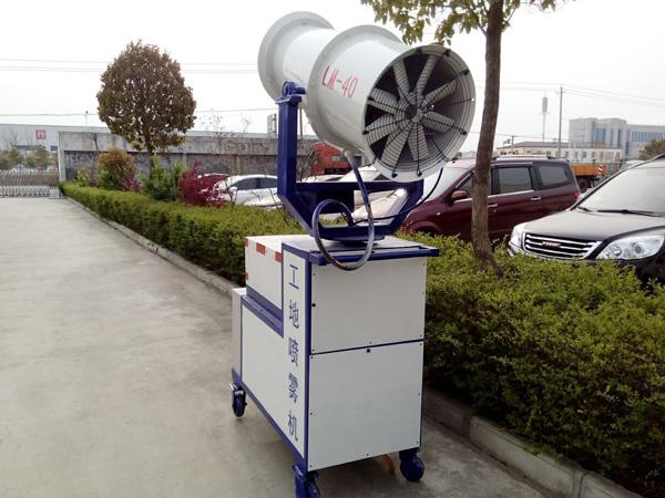 30米手推工地除尘喷雾机 定制20-100米雾炮车