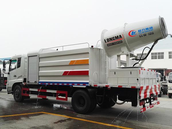 11立方东风天锦雾炮车 11吨多功能抑尘洒水车