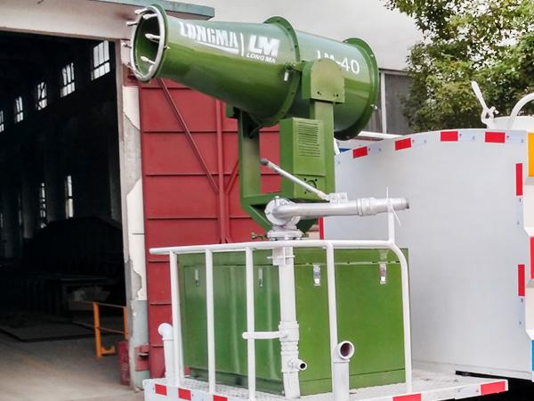30米降尘喷雾机 多功能雾炮 LM-40型喷雾机