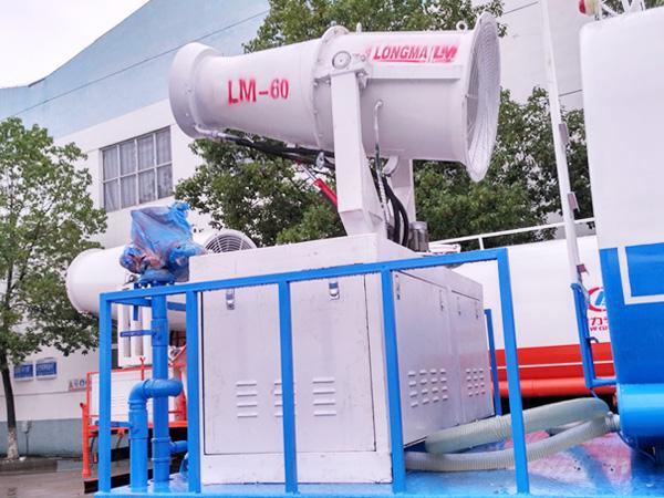 40米绿化喷洒车雾炮车 风送式喷雾机 lm-60型喷雾机