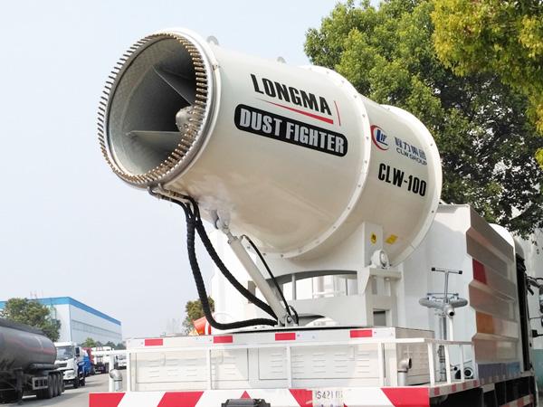 新式clw-100型60-80米喷雾机 大型雾炮车 进口中央喷头喷雾炮