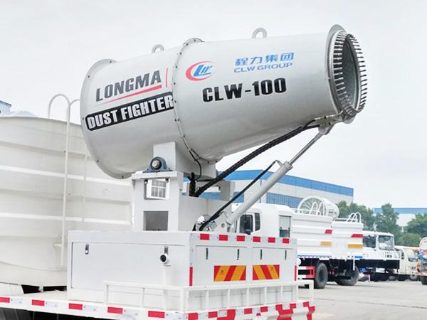 60米环保降尘雾炮车 喷雾机厂家 lm-100型喷雾机
