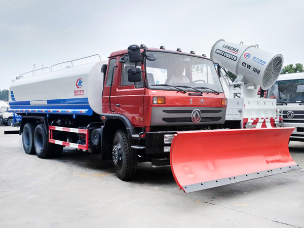 洒水铲雪车 多功能推雪铲3.5米