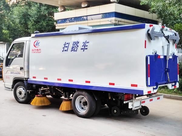 福田扫路车 程力威牌CLW5042TSLB5型扫路车