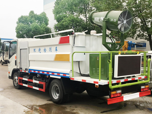 5方多功能降尘车 国五大运环境监测车