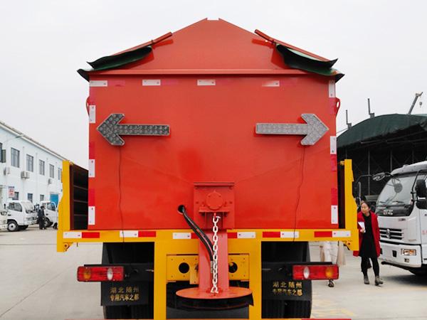 8方道路融雪机 洒盐除雪设备 高速公路撒布机