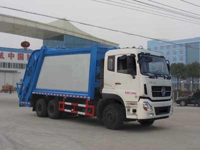 程力威牌CLW5251ZYSD5型压缩式垃圾车