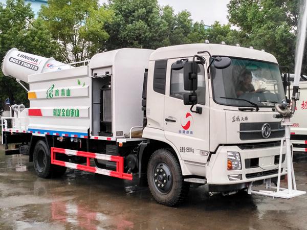 程力威牌CLW5162TDYD5型多功能抑尘车