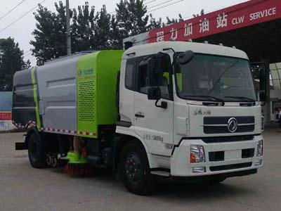 16吨干扫车 程力威牌CLW5160TSLD5型扫路车
