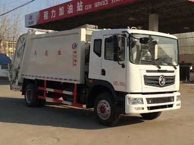 程力威牌CLW5162ZYST5型压缩式垃圾车